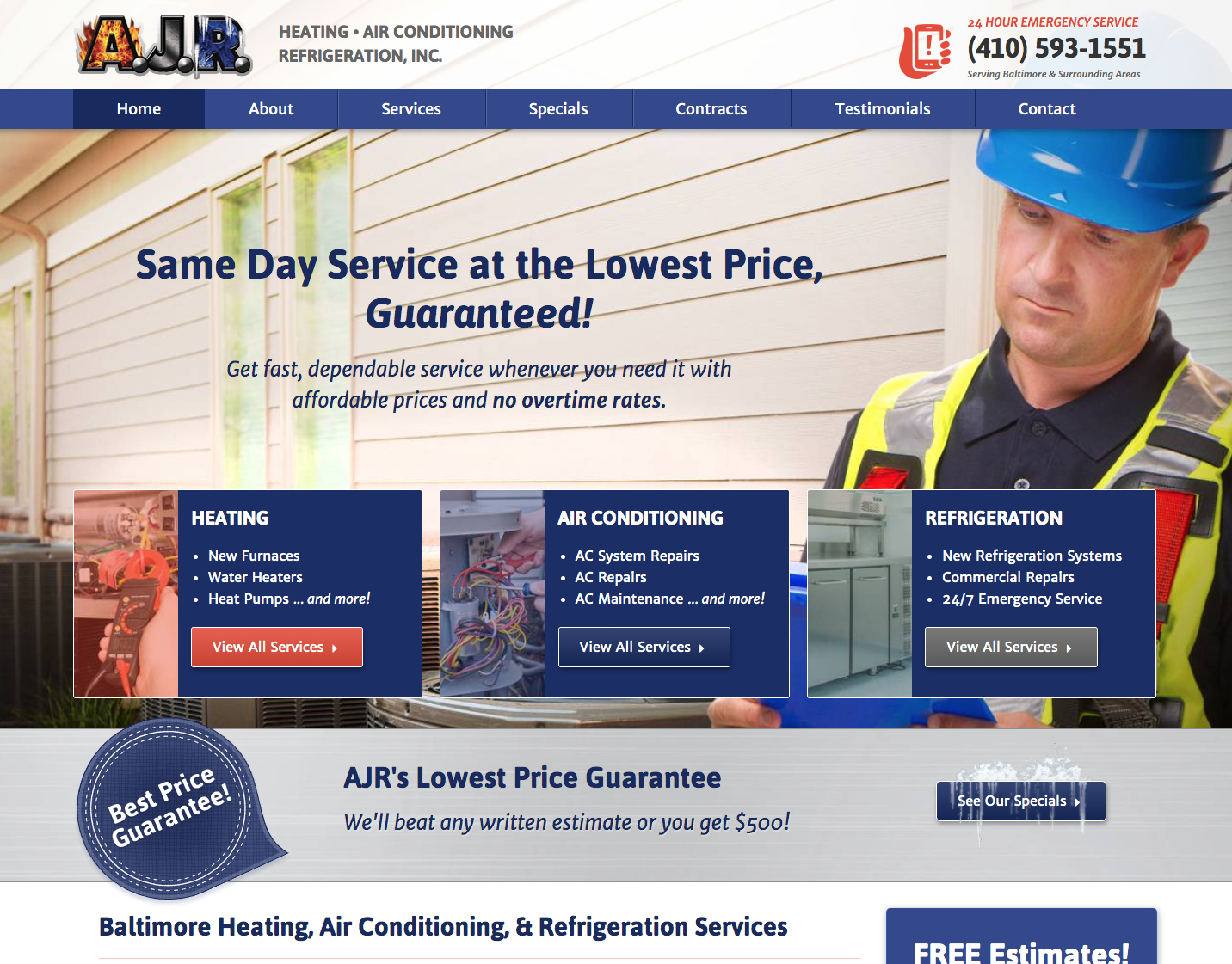 Generating Leads For Hvac Contractors In Baltimore Md Small