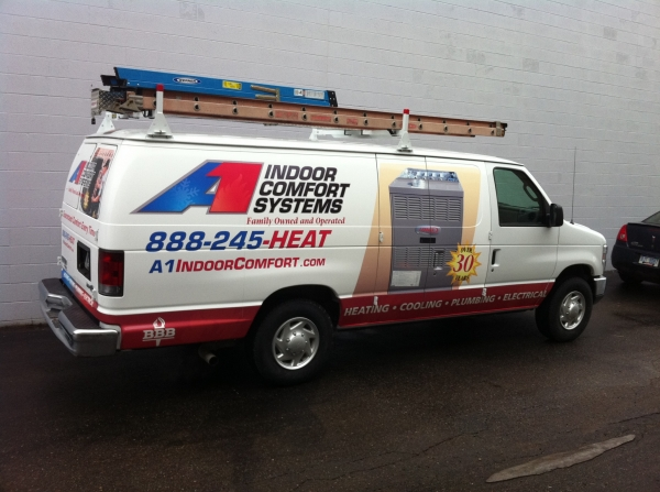 How to Market and Grow Your HVAC Business - A1_Indoor_Comfort_van