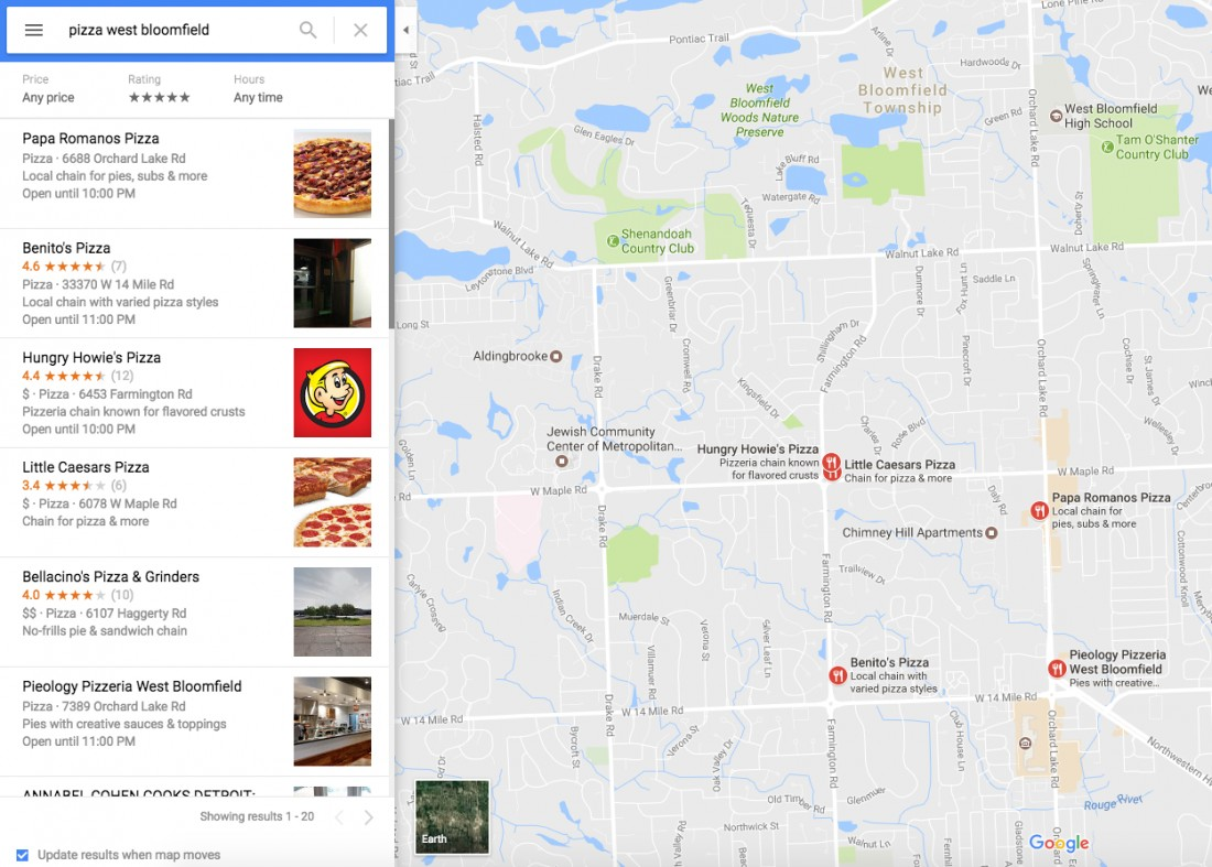 Why Every Small Business Should Use Google My Business - PizzaMapsDesktopResults