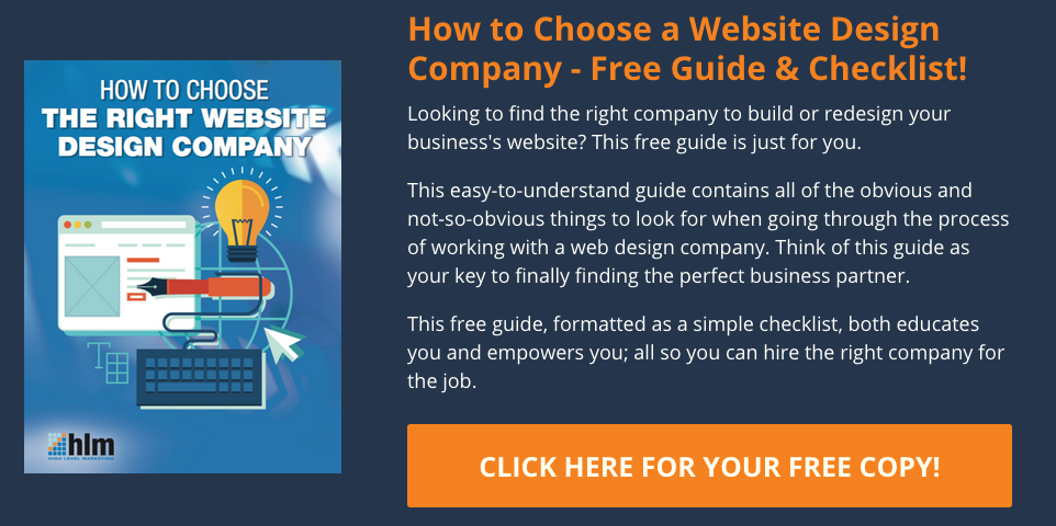 How to choose the right website design company