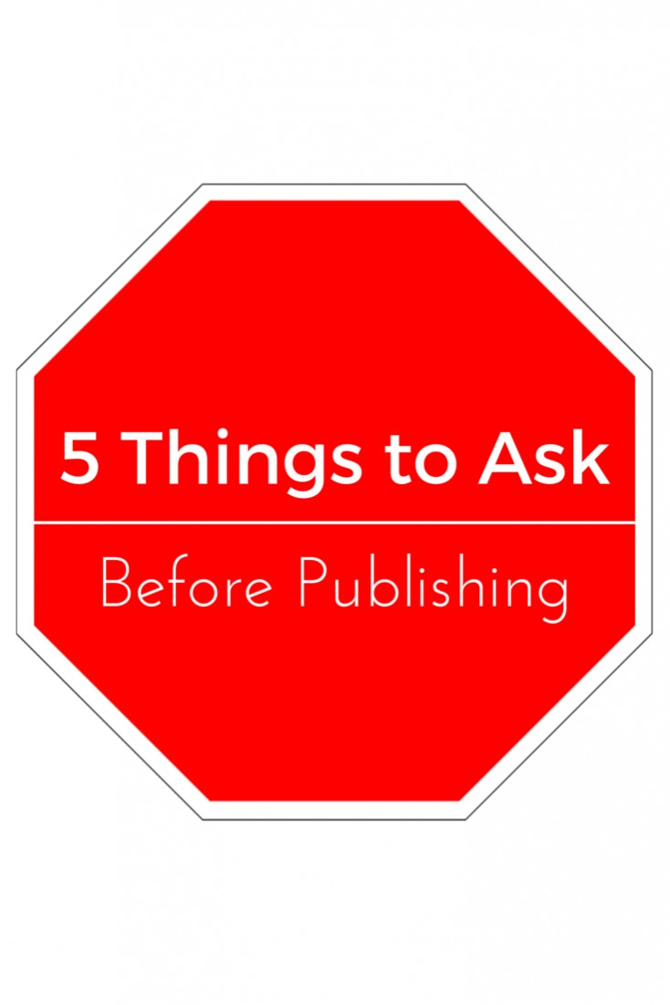 questions to ask before publishing a blog post