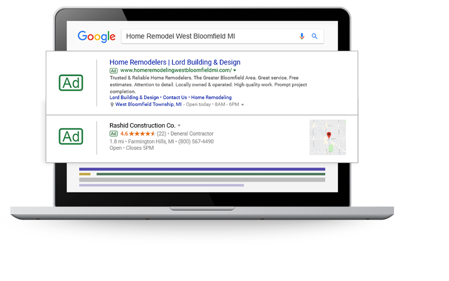 Home Improvement Digital Marketing, Website Tips & Guide to Get More Leads & Customers  - paid-search-improv