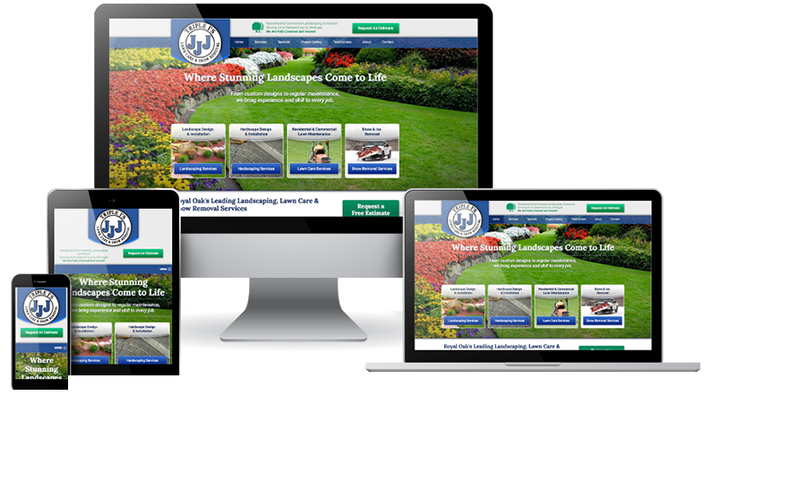 Landscaper Marketing: Web Design, SEO, PPC, Social for Landscaping - web-design-landscape